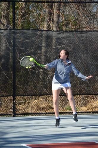 Freshman Jordana Latzman gets some air!