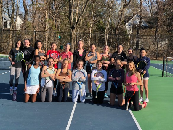 JV Girls Tennis 2019